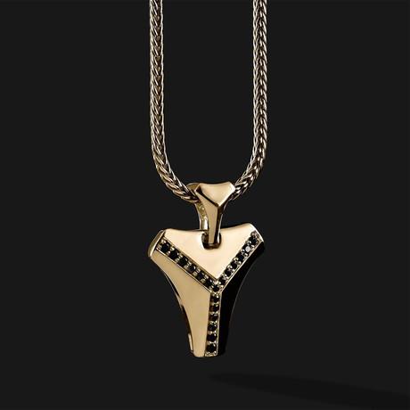 Kudos Pendant V.2 // Gold