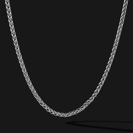 Wheat Chain // Silver
