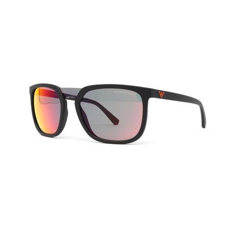 Emporio Armani // Men's EA4123 Sunglasses // Matte Black
