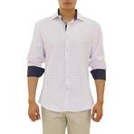 Malek Long Sleeve Button Up Shirt // Pink (XS)