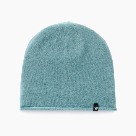 Slap Solid Beanie // Bright Turquoise