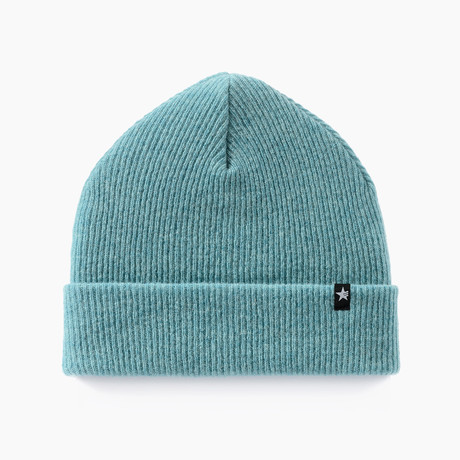 Parker Beanie // Bright Turquoise