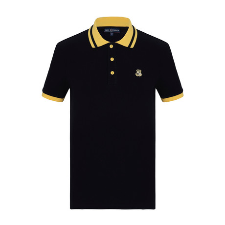 Lucas Short Sleeve Polo Shirt // Navy (S)