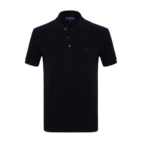 Connor Short Sleeve Polo Shirt // Navy (S)