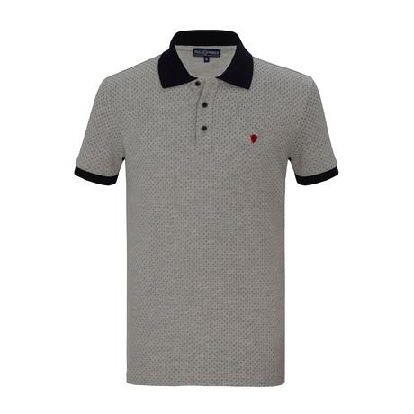 Jorn Short Sleeve Polo Shirt // Gray (S)