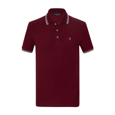 Ivan Short Sleeve Polo Shirt // Bordeaux (S)