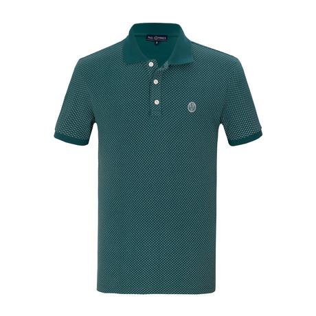 Trayvon Short Sleeve Polo Shirt // Green (S)