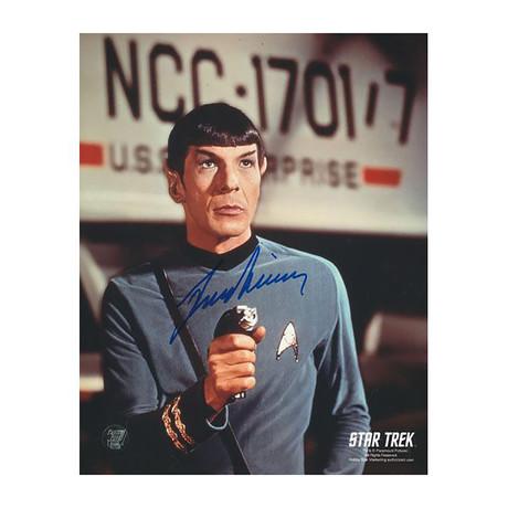 Leonard Nimoy // Star Trek // Autographed Photo
