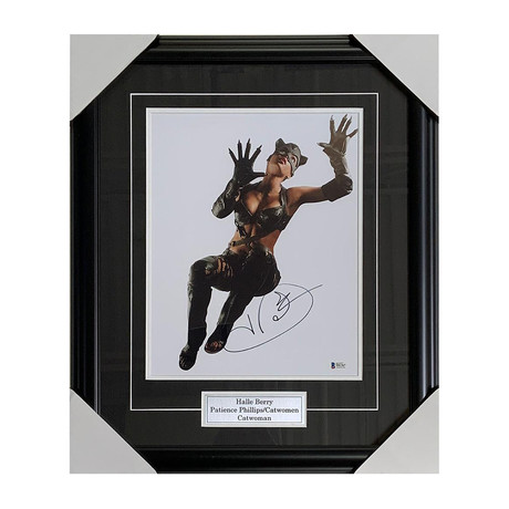 Halle Berry // Catwoman // Autographed Display