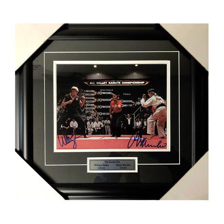 Ralph Macchio + William Zabka // Karate Kid // Autographed Display