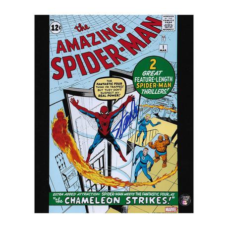 Stan Lee // Spiderman // Autographed Photo