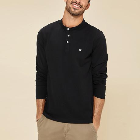 Addison Polo Shirt // Black (Medium)