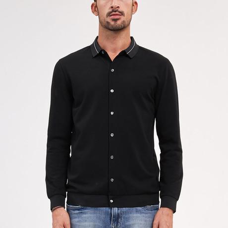 Andre Polo Shirt // Black (Medium)