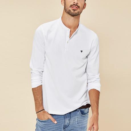 Addison Polo Shirt // White (Medium)