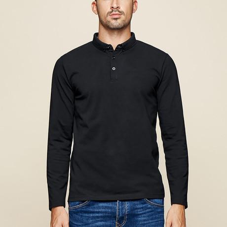 Colin Polo Shirt // Black (Medium)
