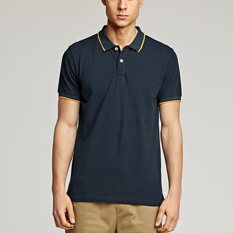 Quinten Polo Shirt // Navy (Medium)