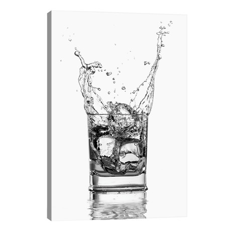 "Double Whisky // Paul Stowe (18""W x 26""H x 1.5""D)"