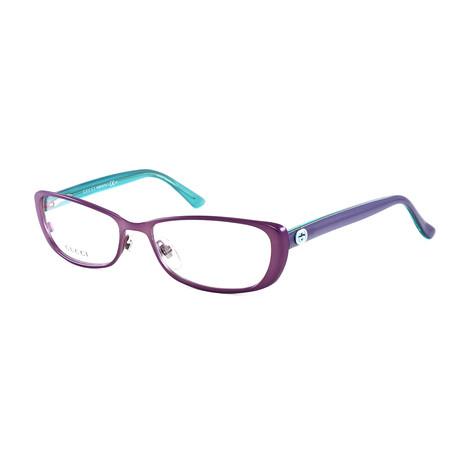 Women's GG2883 Optical Frames // Violet + Turquoise