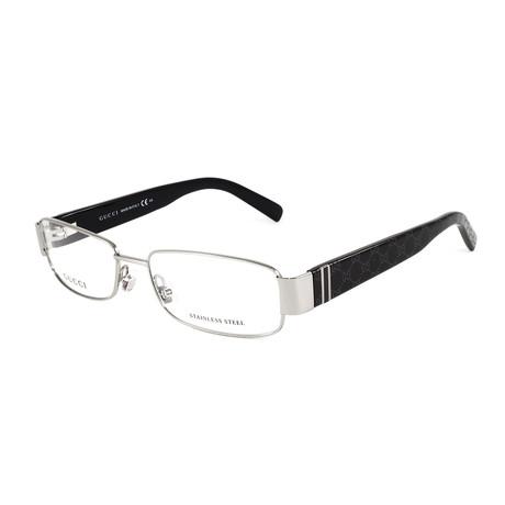 Women's GG2902 Optical Frames // Ruthenium + Black
