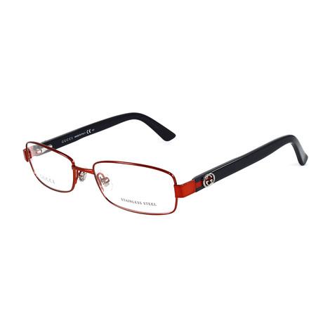 Women's GG2894 Optical Frames // Red + Black
