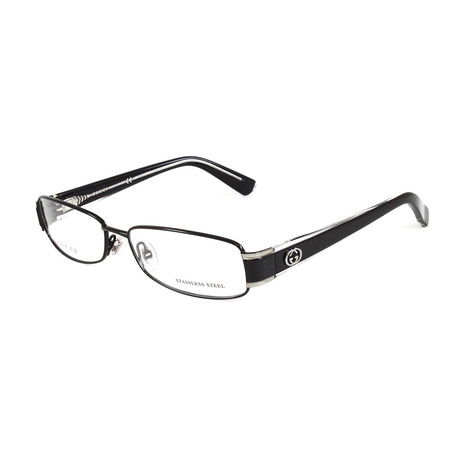 Women's GG2869 Optical Frames // Black + Crystal