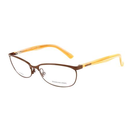 Women's GG2884 Optical Frames // Brown + Orange