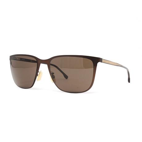 Men's 1062FS Sunglasses // Matte Brown