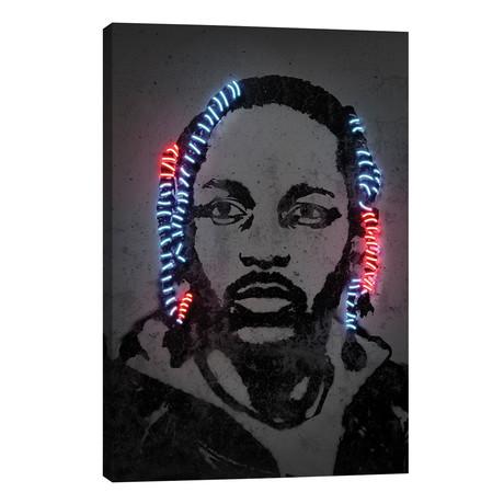 """Kendrick Lamar // Octavian Mielu (40""""W x 26""""H x 1.5""""D)"""