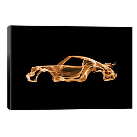 """Porsche 911 Turbo // Octavian Mielu (18""""W x 12""""H x 0.75""""D)"""