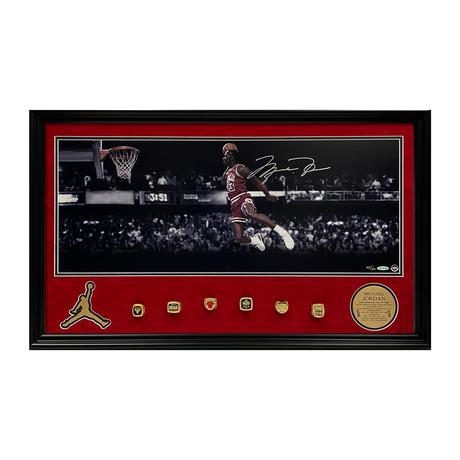 Michael Jordan // Framed // Signed