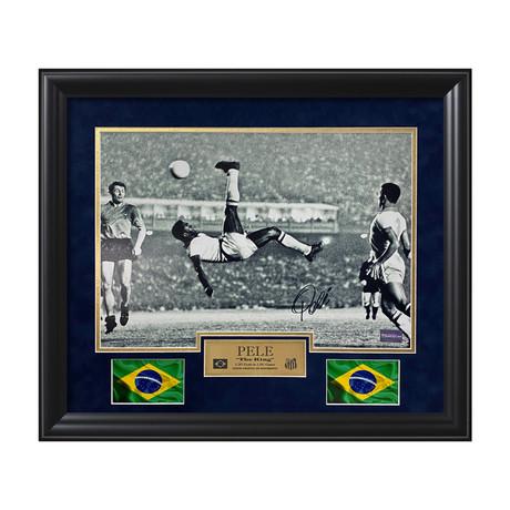 Pelé // Framed // Signed
