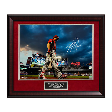 Mike Trout // Framed // Signed
