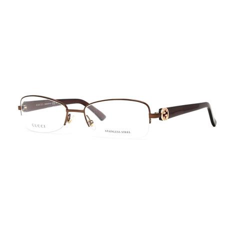 Women's GG2906 Optical Frames // Brown + Pearl