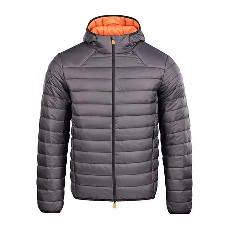 Scranton Jacket // Gray + Orange (XS)