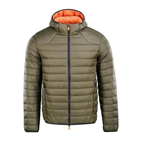 Scranton Jacket // Olive + Orange (XS)