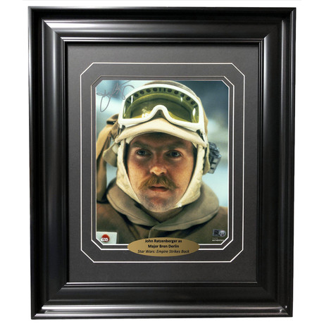John Ratzenberger // Signed + Framed Photo