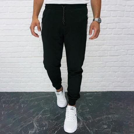 Venice Track Pant // Black (S)