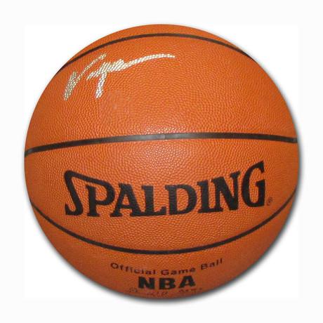 Tracy McGrady // Autographed Basketball