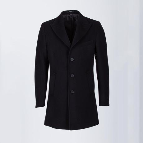Napa Wool Coat // Black (Euro: 52)