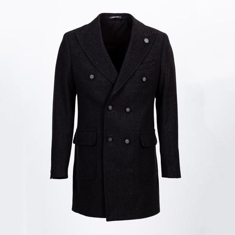 Yountville Wool Coat // Black (Euro: 46)