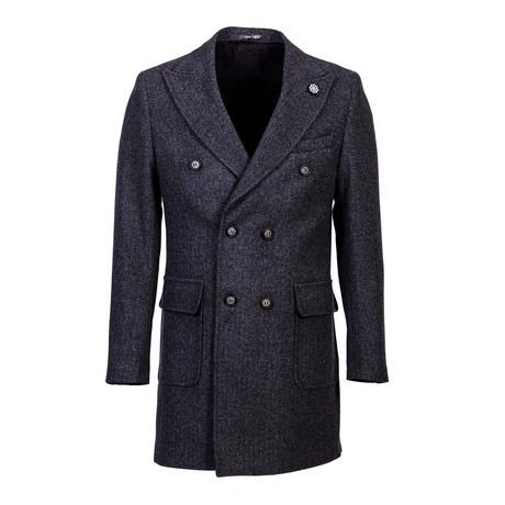 Sonoma Wool Coat // Anthracite (Euro: 46)