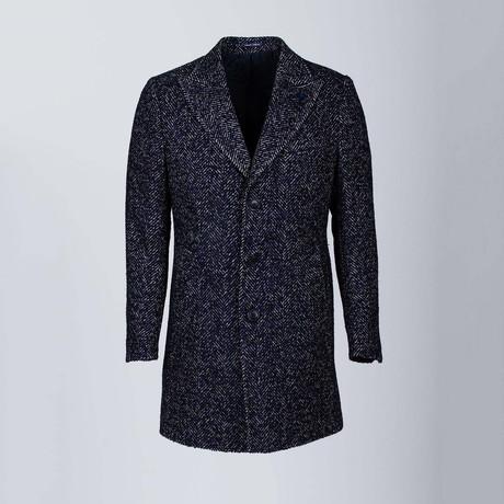 New York Wool Coat // Dark Blue (Euro: 48)