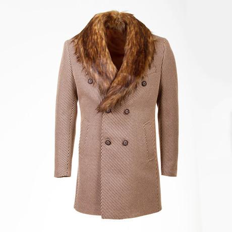 Salem Wool Coat // Camel (Euro: 46)
