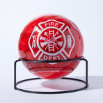 Automatic Fire Extinguisher Ball + Stand // Maltese Cross // 5lbs