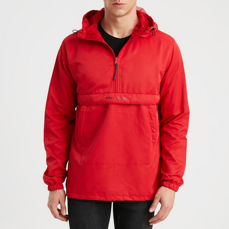 Mountain Track Jacket // Red (S)