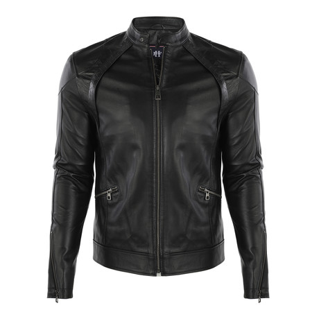 Dante Leather Jacket // Black (S)