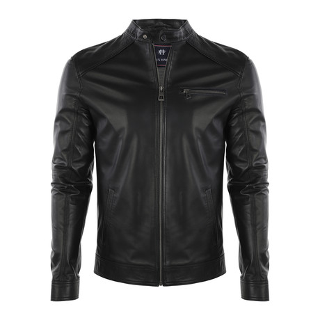 James Leather Jacket // Black (S)