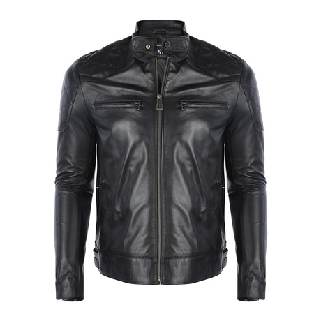 Elvis Leather Jacket // Black (S)