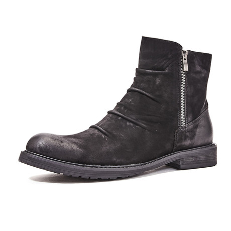 Liam Calf Leather Boots // Black (Size 39)