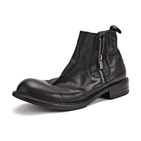 Skylar Calf Leather Boots // Black (Size 39)